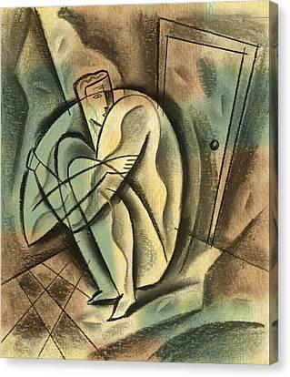 Loneliness Canvas Print by Leon Zernitsky