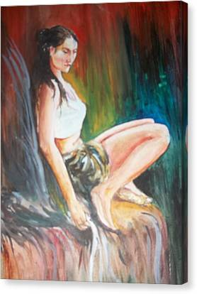 Etc. Canvas Print - Loneliness Makes The Beauty by Sumanta Bose