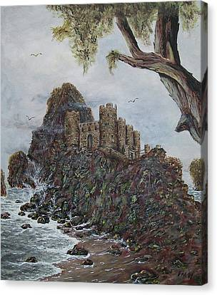 Lonely Castle Canvas Print