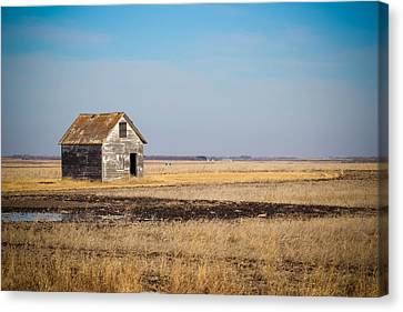 Lonely Ol' House Canvas Print