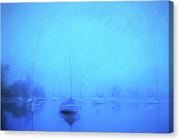 Canvas Print featuring the photograph Lonesome Harbor by Joel Witmeyer