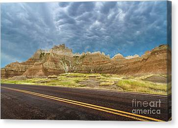 Lonesome Highway Canvas Print
