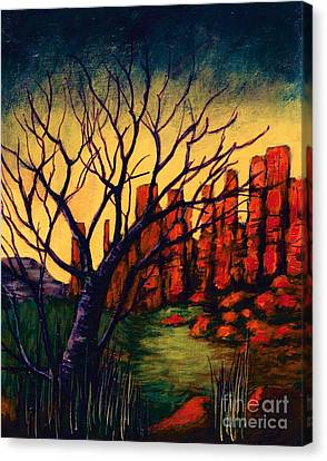 Lonesome Tree  Canvas Print