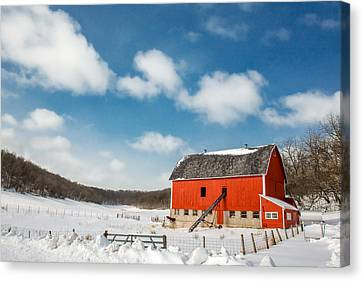 Lonesome Valley Canvas Print by Todd Klassy