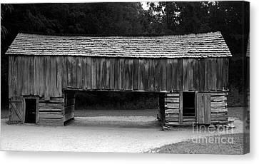 Long Barn Canvas Print by David Lee Thompson