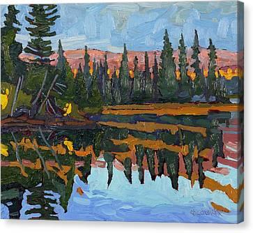 Long Bay Canvas Print