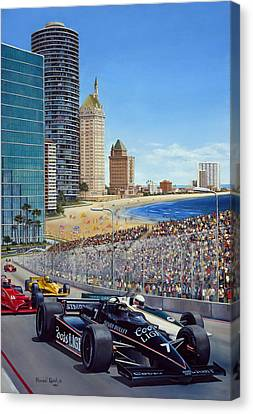 Long Beach Grand Prix 1984 Canvas Print