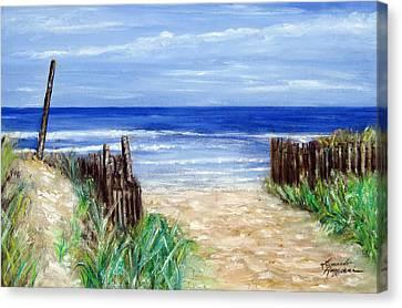 Long Beach Island Nj Canvas Print