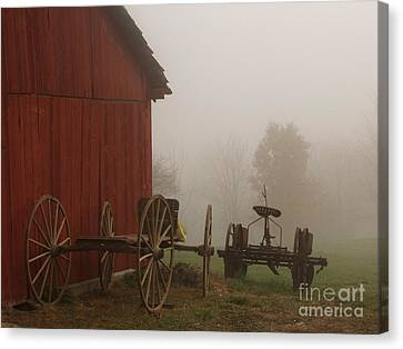 Long Day Canvas Print by Carol Sweetwood