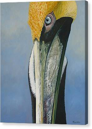 Canvas Print - Long Face by Jon Ferrentino