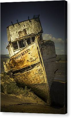 Long Forgotten Boat Canvas Print by Garry Gay