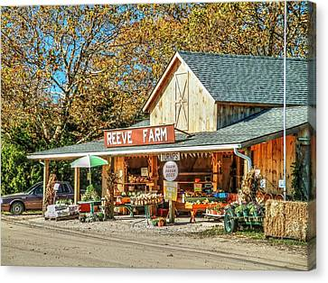 Long Island Farmstand Canvas Print