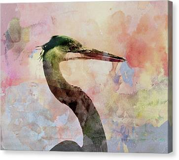 Long Neck 3 Canvas Print