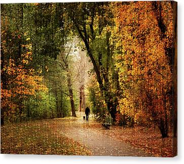Long Walk Home Canvas Print by Jessica Jenney