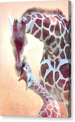 Longest Love Canvas Print