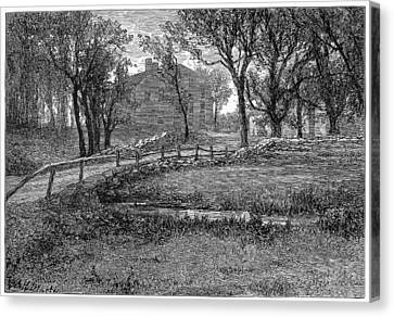 Longfellow: Wayside Inn Canvas Print by Granger