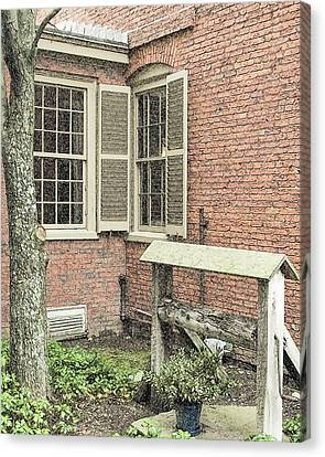 Longfellow's Maine Home Canvas Print