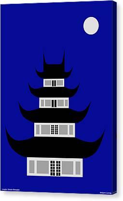 Longhua Canvas Print by Asbjorn Lonvig