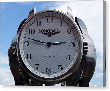 Longines Canvas Print by Anthony Schafer
