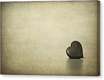 Heart Canvas Print - Longing by Evelina Kremsdorf