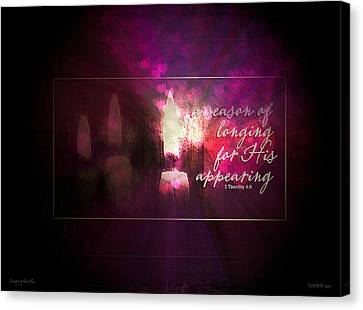 Longing For Him Canvas Print