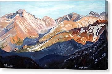 Longs Peak From Trail Ridge Road Canvas Print