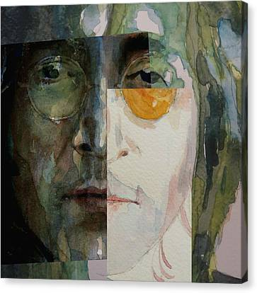 Look @ Me Canvas Print by Paul Lovering