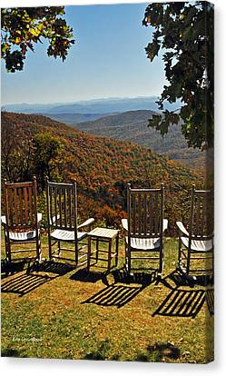 Relax And Enjoy Canvas Print by Kay Lovingood