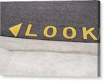 Look - Canberra - Australia Canvas Print