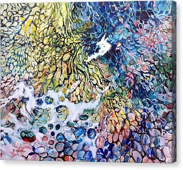 Aperture Canvas Print - Look Down by Chris Walker