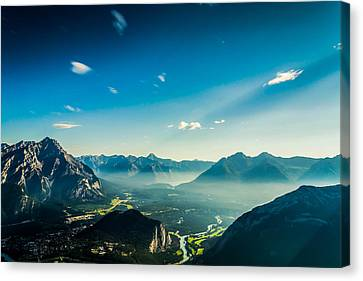 Look From The Top Canvas Print