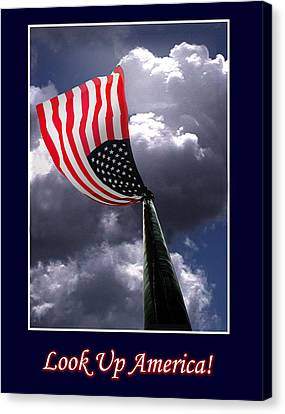 Look Up America Canvas Print by Richard Gordon