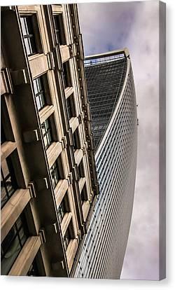 Look Up Canvas Print by David Warrington