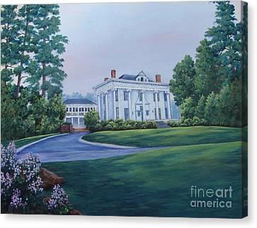 Lookaway Hall Canvas Print