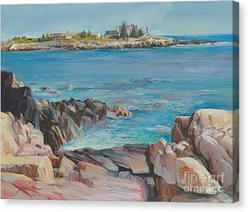 Looking At Walkers Point Estate  Canvas Print by P Anthony Visco