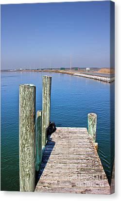 Looking At Wallop Island Canvas Print by Tom Gari Gallery-Three-Photography