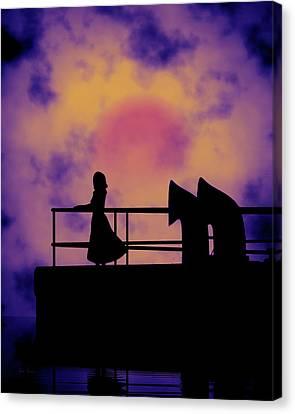 Looking Back Canvas Print by Bob Orsillo