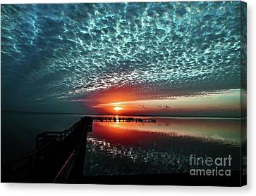 Us1 Canvas Print - Looking Back In Time  by Davids Digits