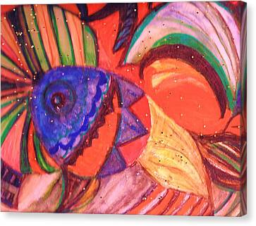 Looking For A Rainbow Canvas Print by Anne-Elizabeth Whiteway