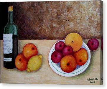 Looking For Cezanne II Canvas Print by Madalena Lobao-Tello