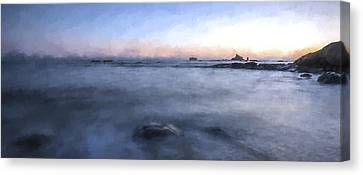 Looking For The Edge II Canvas Print by Jon Glaser