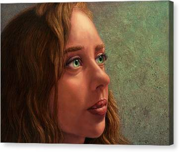 Looking Forward Canvas Print by James W Johnson