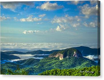 Looking Glass Rock Climbing Canvas Print