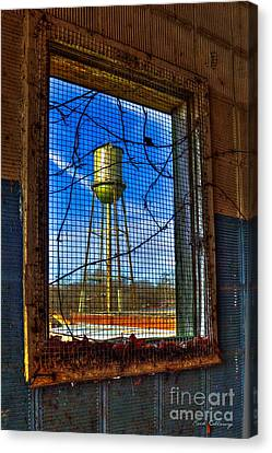 Looking Inside Out Mary Leila Cotton Mill Canvas Print by Reid Callaway