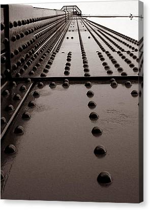 Looking Up Or Looking Down Canvas Print by Joseph G Holland