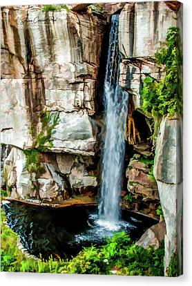 Lookout Mountain Waterfall Canvas Print