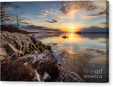 Lookout Point Reflections Canvas Print