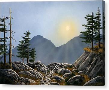 Lookout Rock Canvas Print