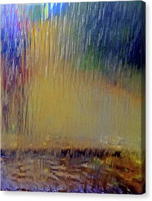 Canvas Print featuring the photograph Looks Like Rain by Nareeta Martin