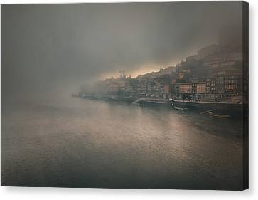 Looming Canvas Print by Chris Fletcher